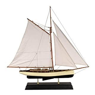 Authentic Models - Schiffsmodell - Classic Yacht 1930s - Groß - detailgetreue Nachbildung