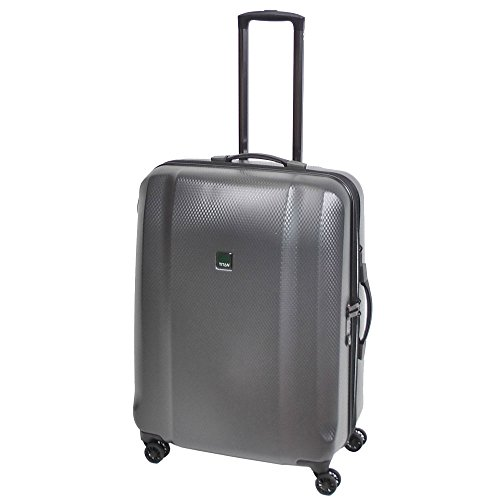 "TITAN Valise trolley ""Xenon Deluxe"" avec 4 roues graphite Koffer, 71 cm, 117 liters, Grau (Graphite)"