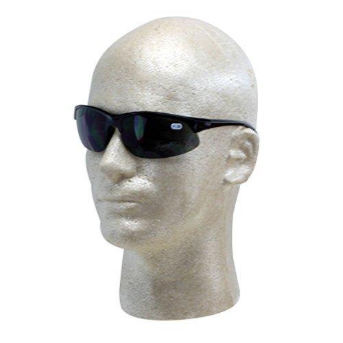 A1 Pacific Italienisches Design Wrap-Style 400UV Bifokalwillen/Lese Sonnenbrille - Wählen Sie 0X Um 3.00X 1 1.5 Schwarz