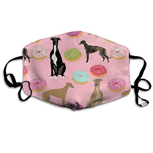 -Maske mit Hundemotiv, niedliches Design, Anti-Staub-Maske, waschbar, wiederverwendbar, Mouth ()