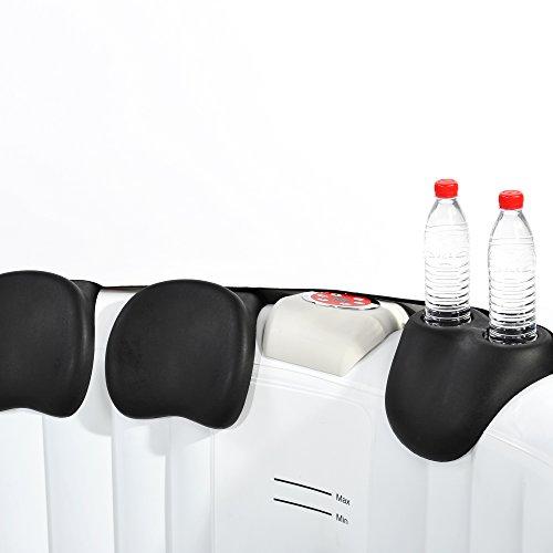 Nemaxx SPA-GH Getränkehalter und Kopfstütze für Whirlpools & Jacuzzi, schwarz - Pool Zubehör, geeignet für alle SPA-Modelle
