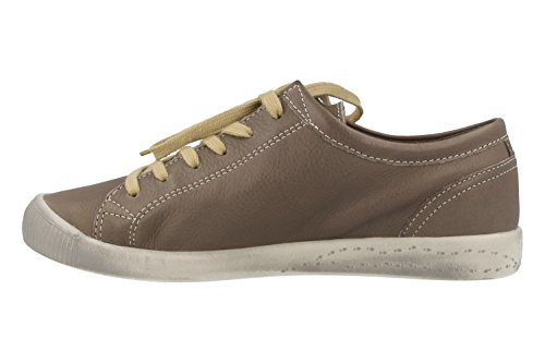 Softinos Damen Isla Smooth Sneaker Beige (Taupe)