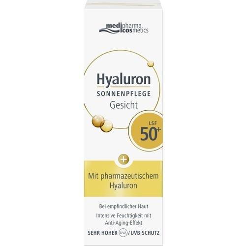 Hyaluron Sonnenpflege Gesicht LSF 50+, 50 ml
