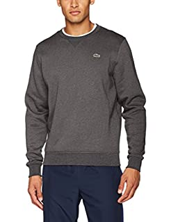 Lacoste Sport SH7613 Sweat-Shirt, Gris (Bitume), Large (Taille Fabricant : 5) Homme (B01LYVQEP9) | Amazon Products