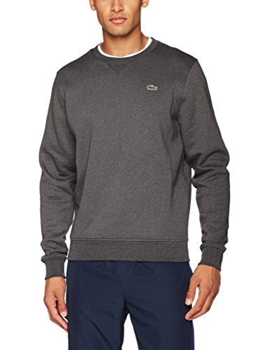 Lacoste Sport SH7613, Sweat-Shirt Homme, Gris (Bitume), X-Large (Taille Fabricant : 6)