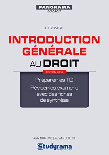 Télécharger Pdf Introduction Générale Au Droit Introduction Le