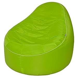 Avenli Pouf Lounge 118x110x90 cm Outdoor & Indoor Sofa Sitzsack Sitzkissen Sessel Lounge robust aufblasbar gewebeverstärkter Bezug wasserfest wetter- UV- und schimmelbeständig
