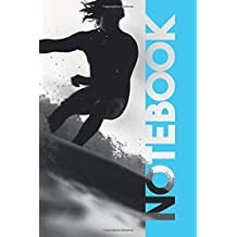 Notebook: Foil Surfing Chic Composition Book for Surfer Dude