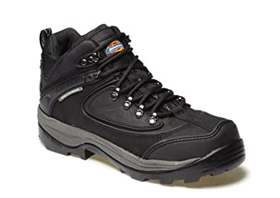 Dickies Thames Waterproof Safety Hiker Black 9