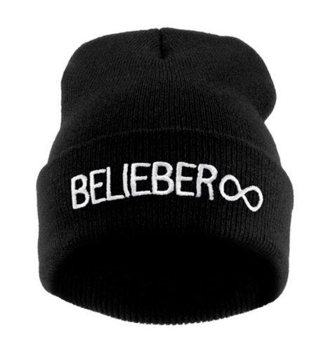 Beanie Beliber Black White