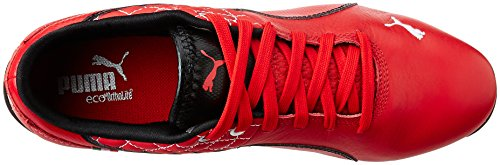 Puma Drift Cat 6 Sf Flash, Baskets Basses mixte adulte Rouge - Rot (rosso corsa-white 04)