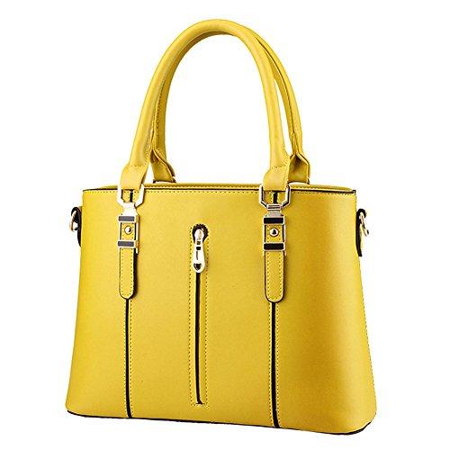SHUhua - Borsa a tracolla donna yellow