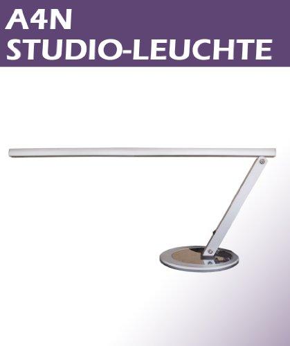 Arbeitstischleuchte Arbeitsplatzlampe - SILBER - für Nagelstudios inkl. Leuchtmittel