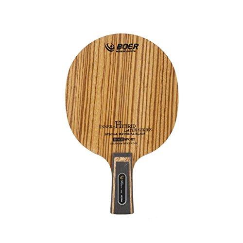 Sunronal 1PCS Langer/kurzer Handgriff - Tischtennisschlägerboden