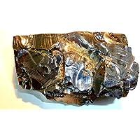 Boviswert Edel SCHUNGIT, seltene große Brocken, 120,30g, 9x5x3cm, schön und kraftvoll, aus Karelien, mit Zertifikat! preisvergleich bei billige-tabletten.eu