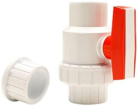 Red Flag Products Single Union Ball Valve Slip Water Pump