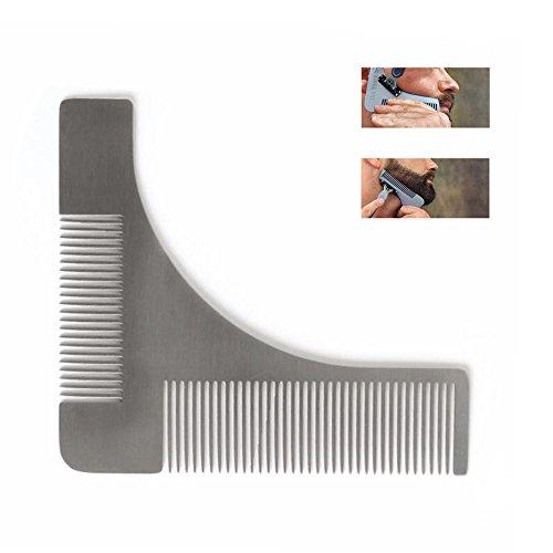Travelmall - Pettine da barba, guida per regolacapelli da barbiere e rasoio da corpo, uso facile e design di alta qualità