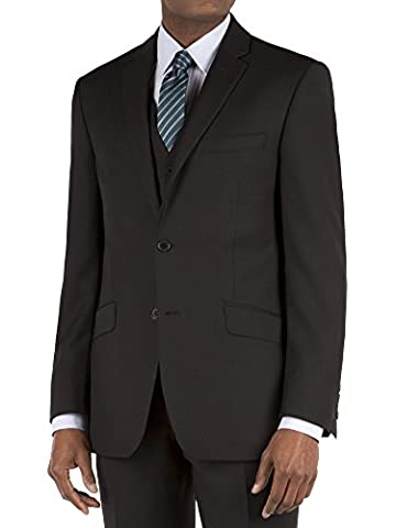 Suit Direct Racing Green Black Micro Tailored Fit Suit Jacket