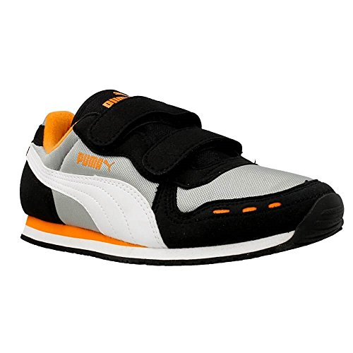 Puma - Cabana Racer - 35637316 - Couleur: Gris-Noir-Orange - Pointure: 20.0
