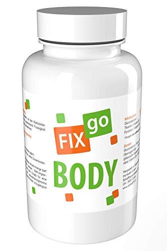FIXgo Body | Gewichtsverlust + Energie-Stoffwechsel / 90 Kapseln -