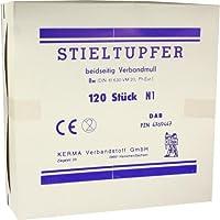 Stieltupfer unsteril 20 cm x 4 mm beidseitig 120 Stück preisvergleich bei billige-tabletten.eu