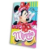 Unbekannt Kids Euroswan Fleecedecke, bedruckt, Minnie Mouse, Baumwolle, mehrfarbig, Einzelbett, 30x 12x 12cm