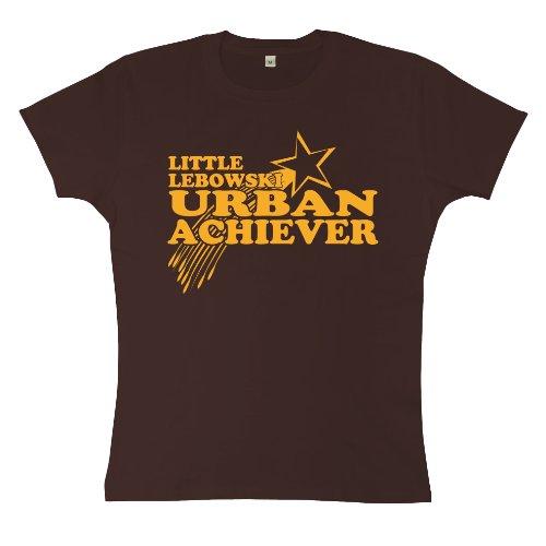 n Little Lebowski Urban Achiever T Shirt - XL (14-16) - Brown (Jesus Big Lebowski)