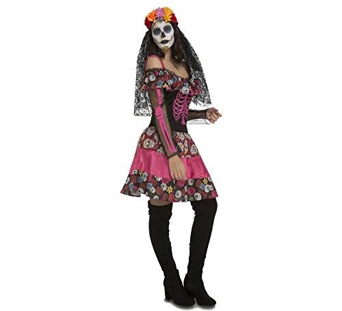 My Other Me - Kostüm Skelett Dia de los Muertos für - Dia De Los Muertos Skelett Kostüm