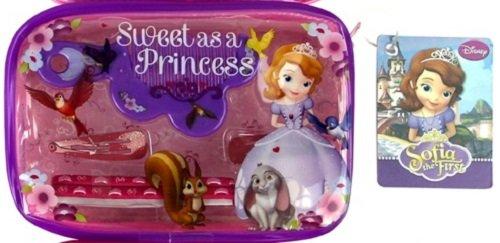te Prinzessin Geldbörse Haarklammern und Kamm Girly Beauty Geschenk Set (Sofia Die Erste Geldbörse)