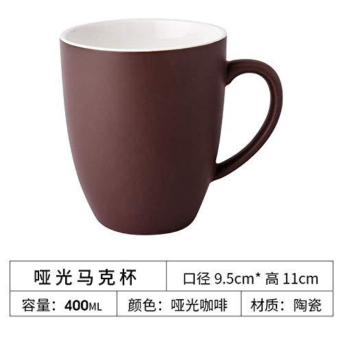 Porzellanbecher spezielle europäische kleine Luxus Keramik Kaffeetasse Set Einfache kreative Heimat Matte Cup