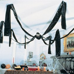 Giant Halloween Hanging Spider Decoration