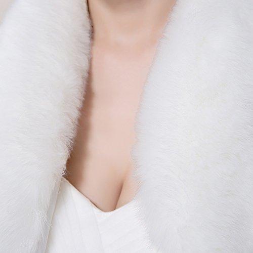 KA Beauty - Châle - Femme Ivory4