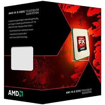 AMD FX-Series FX-8120 Edizione Nera 8-Core Processor (3.10 GHz, 16MB Cache, Socket AM3+, 125W, 3 anni di garanzia, Retail Boxed)