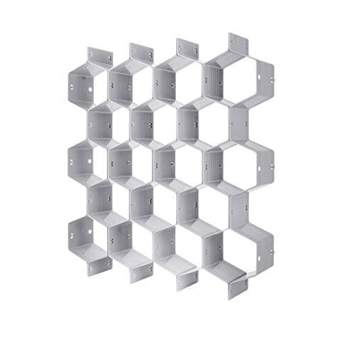 Cdrox Haushalt Kunststoff Honeycomb Partition Unterwäsche Socken Bras Krawatten Organizer Gürtel Schals Drawer Divider