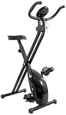 Hometrainer, X-Bike, zusammenklappbar, magnetisch, für Fitness, Cardio, Workout, Gewichtsabbau
