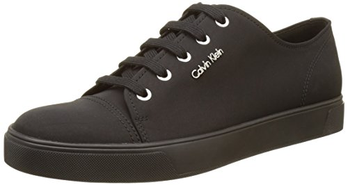Calvin Klein Napoleon Nylon, Sneakers Basses Homme Noir (Blk)