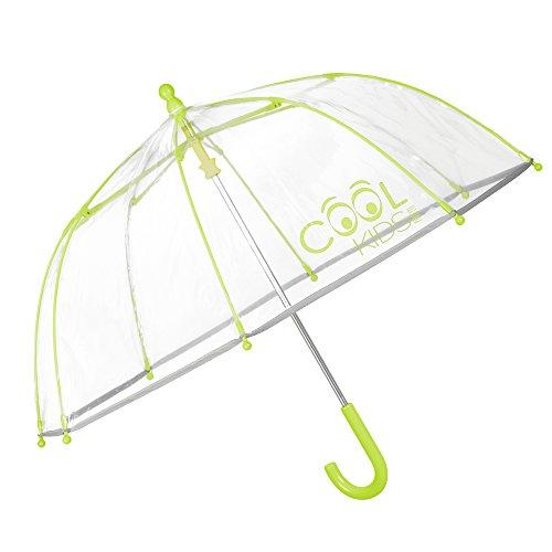 Paraguas Transparente Niño Niña Amarillo   Paraguas