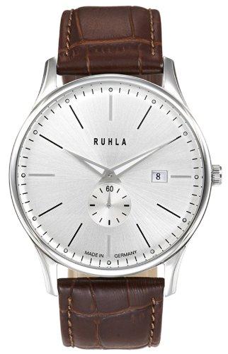 ruhla 91235 307049 - Herren-Armbanduhr, Lederarmband