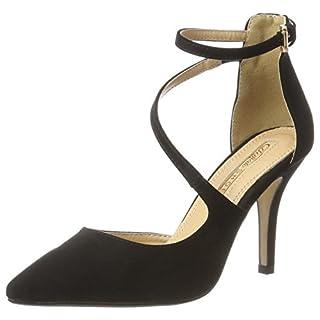 Buffalo Shoes Damen 315349 Pumps, Schwarz (Black 01), 40 EU