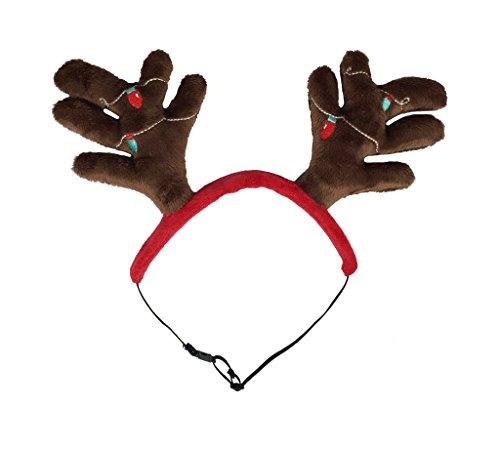 (Outward Hound 11001Weihnachten Urlaub Antler, Kopfband, Medium)
