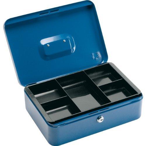 6 X 5 Star Office Cash Box 12 Inch W217xD300xH101mm Blue