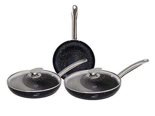 Blaumann - Juego 5 piezas fritán mango acero inoxidable