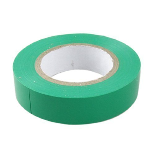 sourcingmap® 17mm breit, grün PVC Electrical Wire Verbindung Isolierband Rolle