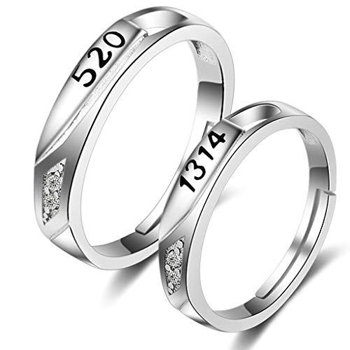 Beydodo Partner Ringe Silber 925 5201314