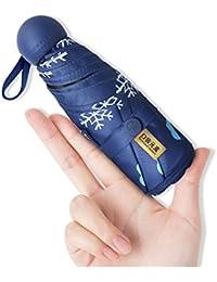 Parasol Paraguas plegable Mini bolsillo Paraguas Protección solar Protección ...