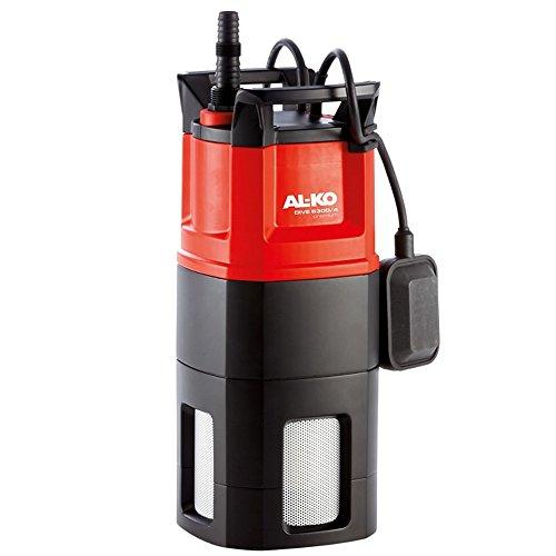 AL-KO Tauchdruckpumpe Dive 6300/4, 1000 W Motorleistung, 6.300 l/h Fördermenge, 40 m max. Fördermenge, 4-stufiges Pumpenlaufwerk