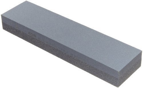 Fervent Silicone Carbide Combination Stone for Sharpening Both Knives and Tools (Multicolour, CSSC109)