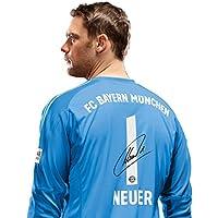 FC Bayern München Trikot Torwart Kinder, Manuel, Nummer mit Unterschrift Flock, Jersey 18/19