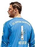 FC Bayern München Trikot Torwart Kinder, Manuel, Nummer mit Unterschrift Flock, Jersey 18/19 Größe 140