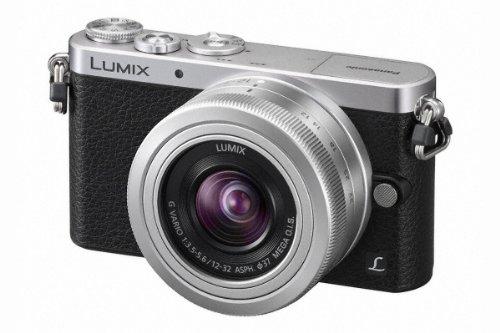 Panasonic Lumix DMC-GM1 Systemkamera (16 Megapixel, 7,6 cm (3 Zoll) Display, Full HD, optische Bildstabilisierung, WiFi) schwarz/silber mit dem Objektiv G Vario 12 bis 32 Millimeter f3.5-5.6